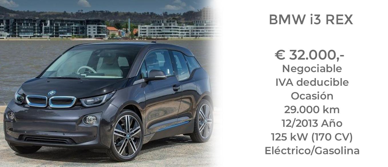 COMPRAR BMW i3 REX